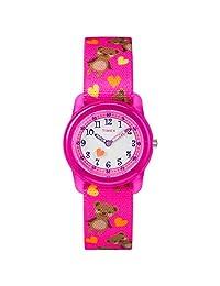 Timex Girls Time MachinesTW7C16600  Analog 尼龙 粉色 TW7C166009J watches