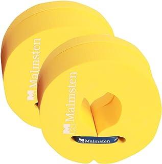 Malmsten 儿童 Flipper D2 L 儿童幼童和儿童泡沫浮子圆盘,学习游泳套装,游泳训练辅助,黄色,大号