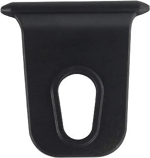 雨篷挂钩衣架,5件黑色房车雨篷挂钩衣架替换节省空间实用耐用适用于所有自动滚动遮篷滑板车条通道