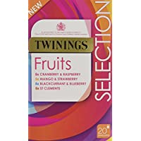 Twinings | Fruit Selection | 4 x 20 Bags