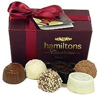 Hamiltons 勃艮第Burgundy 豪华比利时Ballotin 手工巧克力礼盒 12个