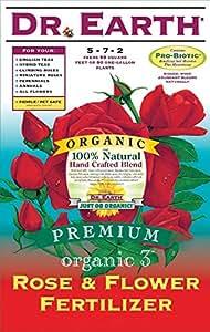 Dr. Earth 709 Organic 3 玫瑰和花肥料,12 磅