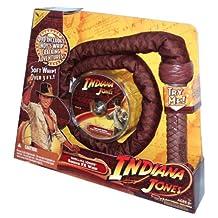 Indiana Jones 音效 FX 3 英尺长软鞭,带赠送 7 分钟印*安纳琼斯*佳冒险DVD