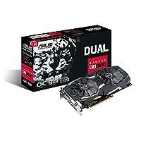 ASUS 华硕Radeon RX 580 8 GB GDDR5 PCI Express 3.0显卡 - 黑色