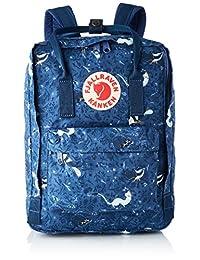 FJALL RAVEN 亚马逊官方正品 双肩包 使用G-1000材质 Kanken Art Laptop 13英寸 容量:13升 23612 Blue Fable
