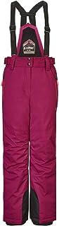 Killtec 女童 Kalyn Jr 滑雪裤防水/功能裤,带拉链的拉绳,雪边保护/防水柱 10000 毫米