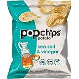 popchips 海盐酸醋味薯片 无麸质 低脂 不含人工调味料