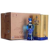 洋河 蓝色经典 海之蓝 42度 整箱装白酒 520ml*6(内含3个礼袋) 口感绵柔浓香型