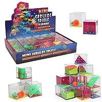 IQ Toys 迷宫方块拼图 24 片装 3D 大脑刺激玩具 *游戏 适合儿童和成人的派对用品 *和*玩具