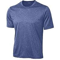 DRIEQUIP 男士高大款短袖吸湿排汗运动 T 恤