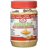 Betty Lou's - 正义伟大的材料搽粉的花生酱 - 6.43盎司