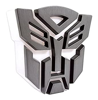 Transformers Autobot Light Lamp grey-white