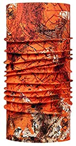 BUFF 百福 原创系列 男女通用魔术头巾 113045.204.10 橘黄色 均码