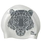 SPEEDO(SPEEDO) 硅胶 正反两用 游泳帽 硅 SD98C71