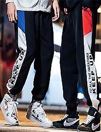 Hooper Homme 裤子男韩版潮流春季宽松原宿bf风运动休闲裤束脚男士修身休闲长裤