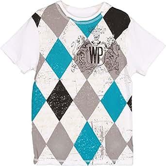 Warrior Poet 白色钻石男童 T 恤 白色 2T