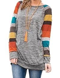 M . Brock 女式棉质针织长袖轻质束腰外衣运动衫上衣