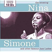 进口CD:爵士女声经典合集 The Amazing Nina Simone and other Famous Jazz Ladies(jazz)(10CD) 600177