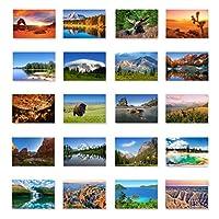 59 US NATIONAL PARKS 明信片套装59张明信片。 All 59 美国国家公园明牌包。 美国制造。