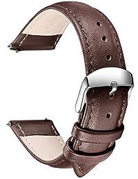 SONGDU analog 皮革 深棕色 LB-20-Dark Brown 表带