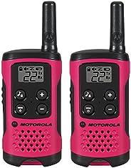 Motorola T100 Talkabout Radio,2 只装T107 T107-2 包 T107 2 Pack 霓虹粉