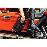 Kuryakyn 5289 摩托车旅行行李箱:鞍包保护收纳袋,适用于 1993-2019 哈雷戴维森旅行摩托车,黑色,1 对