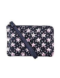 coach奢侈品女包手包 女士皮质短款手拿包零钱包