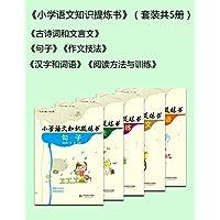 小学语文知识提炼书(套装共5册)汉字和词语/阅读方法与训练/古诗词和文言文/句子/作文技法