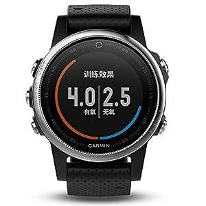 GARMIN 佳明 fenix5S 普通镜面国行中文版 黑色 多功能光电心率GPS手表 运动户外登山骑行游泳跑步智能腕表