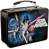 Vandor 99270 Star Wars Episode 4 Large Tin Tote, Black 海外直邮 【亚马逊海外卖家】