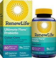Renew Life Ultimate Flora结肠护理益生菌- 800亿- 60粒胶囊