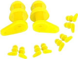BESTCYC 5 双装(10 件)儿童游泳耳塞防水软硅胶耳塞,适用于儿童游泳