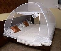 Classic Mosquito Net Classic Foldable Mosquito Net (White-Premium) (Size-Double)