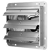 iPower 7 英寸快门排气扇铝制,高速