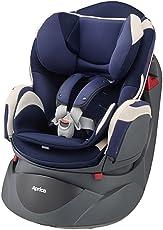 Aprica 阿普丽佳 可座可躺婴儿汽车安全座椅 乐酷哆汽车座椅(蓝色)(适合0-4岁宝宝,五点式安全带,全身守护垫,单手单键操控阀)