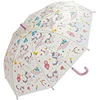 Skater 斯凯达 长伞 儿童用 伞 塑料 独角兽 55cm UBV0