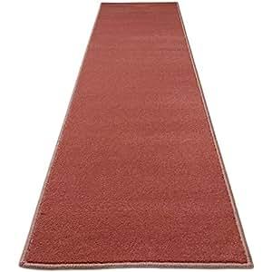 廊下敷 ペット対応 選べる17色 撥水 フランボワーズ 红色 幅 60cm