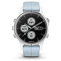 GARMIN佳明fenix5S Plus国行中文版GPS三星定位光电心率多功能支付音乐户外跑步运动手表