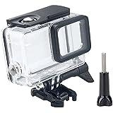 REVTEBAO运动相机配件 适用Gopro5 Hero5/4 /3 Black 防水壳保护壳潜水壳Gopro保护壳配件 (hero5不卸镜头款)