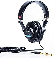 Sony 索尼 MDR-7506 / 1專業耳機,黑色