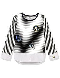 Disney 迪士尼童装 男童 针织长袖T恤 KVM8S1WTKB2005XB