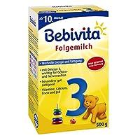 Bebivita 贝唯他 幼儿3段奶粉 1123 4盒装 (4 x 500 g/盒)