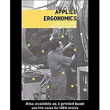 Applied Ergonomics (English Edition)