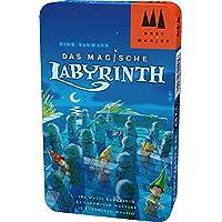 Schmidt 三位魔术师系列 51401 神奇迷宫,带携行金属盒,彩色