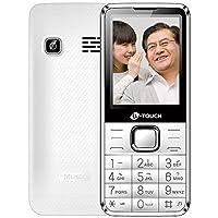 K-Touch 天语T2 移动联通直板按键大屏大字大声老年机老人机一键拨号老人手机 (白色)