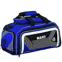 Max5 升华 MMA 行李袋 BJJ Martials 跆拳道运动装备背包,带鞋隔层网眼口袋运动旅行湿袋装备包