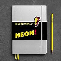 Leuchtturm1917 霓虹黄色记事本 带贴纸