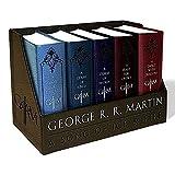 冰与火之歌 英文原版小说英文版 英文原版书权利的游戏全套A Song of Ice and Fire精装皮革版全集1-5game of thrones珍藏版 [平装] [Jan 01, 2015] George R. R. Martin [平装] George R. R. Martin