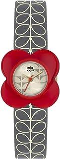 Orla Kiely 奥拉·凯利 中性成人模拟经典石英手表皮革表带 OK2282