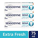 Sensodyne舒适达 修复保护清新款牙膏 75ml x 3条装